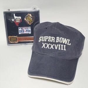 Vintage NFL SuperBowl StrapBack Dad Cap Hat in EUC